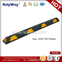 Parking Safety Rubber Wheel Stopper