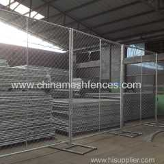 temporary chain link fence panels 1.625