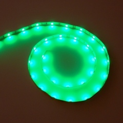 Green SMD 5050 flexible LED strip lights 12V