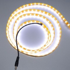 White flexible LED Strip lights 12V