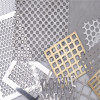 Aluminum Metal perforated panel for building facade wall panel screen fence decoration