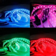 Waterproof RGB LED Strip lights 12V