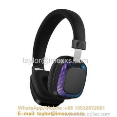 Luminous wireless bluetooth headphone