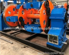 400/500 cable making machine for ABC ACSR copper wire planetary stranding machine