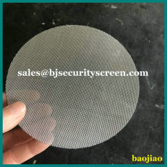 Stainless Steel Filter Disc Screen