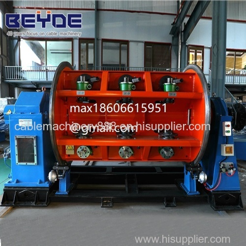 Rigid type copper wire / cable strander professional power cable making machine