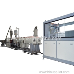 PVC electric conduit pipe extrusion making machine line