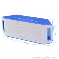 Super bass Wireless Bluetooth speaker Subwoofer Loudspeakers with hands free TF card USB FM R