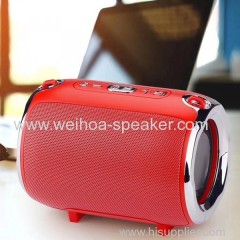 Aluminum Drum Style Portable Bluetooth Speaker with Carry Strap S518