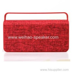 Best portable outdoor wireless bluetooth speaker with handle 10W big sound battery 1200 MAH