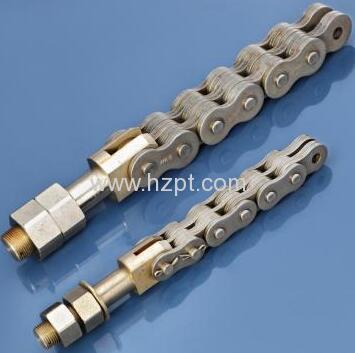 Steel Conveyor Roller Chain 16AA-1 16AA-2 20AA-120AA-2 20AA-3 24AA-1 24AA-2 For Car Parking