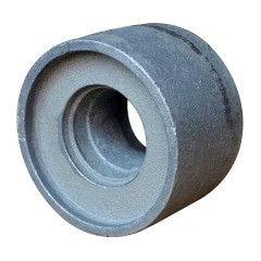 Grey cast iron wheel manufacturer sand casting wear resistance cheap OEM customized