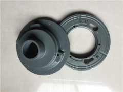 Sand casting gray cast iron machine parts mechanical components OEM suppliers