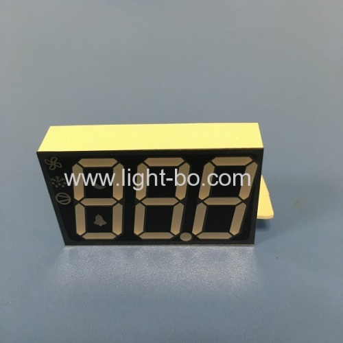 Customized Multicolor Triple Digit 7 Segment LED Display for Commercial refrigerator System
