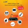 The new digital set-top box DVB-T2plus with wifi youtube Colombia