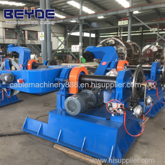 power cable and sector cable stranding machine JDP2500/3500 drum twister