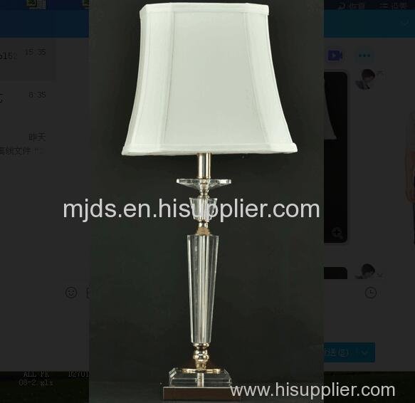 Windsor crystal table lamp
