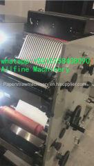 Drinking paper straw pen tubes flexo printing machine food grade soybean oil ink Flexography printer machinery