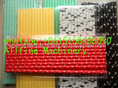 high speed paper drinking straw making machine multi cutters full automatic small paper tubes colorful
