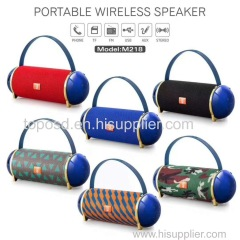 Mini Bluetooth Speakers Wireless Portable Handle Sound Speaker USB TF Card Mini Mp3 Music Player