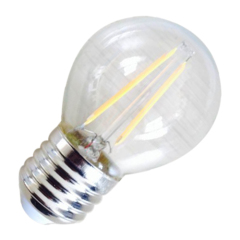 LED G45 Bulb 2W Filement E27 B22 Warm White