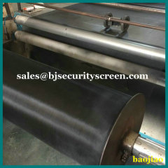 18x14 Mesh Black Epoxy Coated Steel Fabric