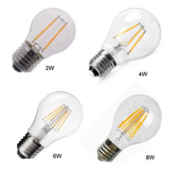 LED Bulb 6W Filement E27 A60 Warm White