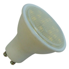 4W spot light LED GU10 bulb 380lm PC alu. body 220-240V Ra>80