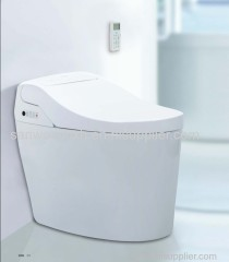One piece Intelligent Toilet electronic Bidet lid cover