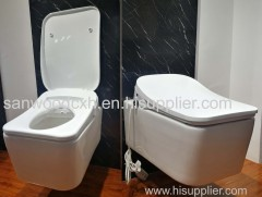 Wall hung Suspended Type intelligent toilet bidet