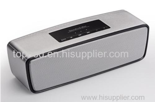 Hot sale Portable Wireless stereo bluetooth speaker plastic metail Good Quality Factory Price