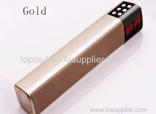 Portable Led Wireless Bluetooth Speaker Stereo HIFI Loudspeaker Soundbar TF FM Bluetooth Column for Pc TV Phone Speaker