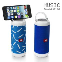 Mini Wireless Loudspeakers Bluetooth Speaker for Phone with Mic PC Portable Stereo Bass Speaker
