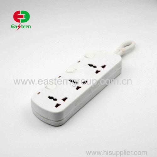 16A plug socket wall 3 round pin universal UK wall socket with switch