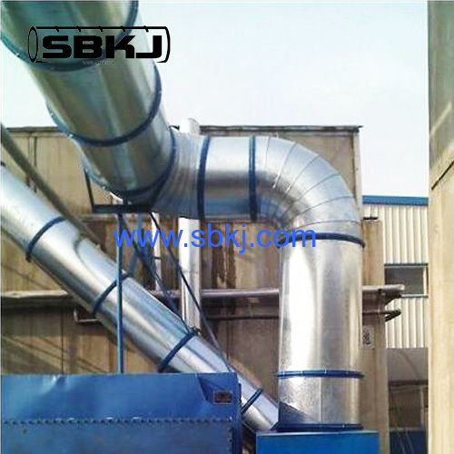 Manufacturing in action Spiral Pipe