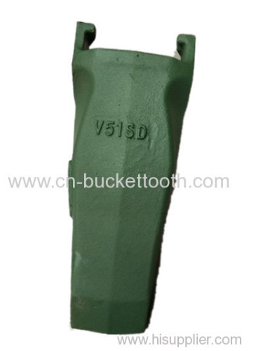Esco mining equipment spare parts excavator bucket tooth V51SD