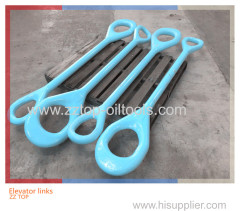 Oilfield handling tools elevator link weldless