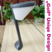 6W LED garden light 540lm high brightness Aluminium alloy body IP44 220-240V