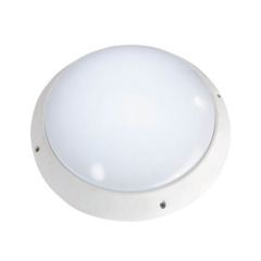8W LED ceilling light bulkhead light IP54 PC body round
