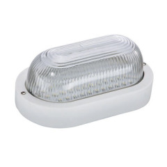 bulkhead light 8W 1000lm PC + Glass body 220-240V