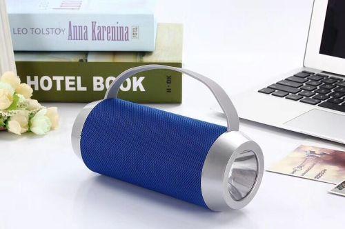 2018 new design led light protable bluetooth speaker
