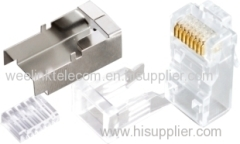 plug rj45 connector 8P8C RJ45 RJ-45 CAT5 Modular Plug Network Connector for Cat5 Cat5e Cat6 Cable