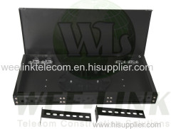24 core LC slidable type rackmount fiber optic patch panel