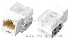Network Tooless UTP FTP Rj45 cat5e cat6 Keystone Jack