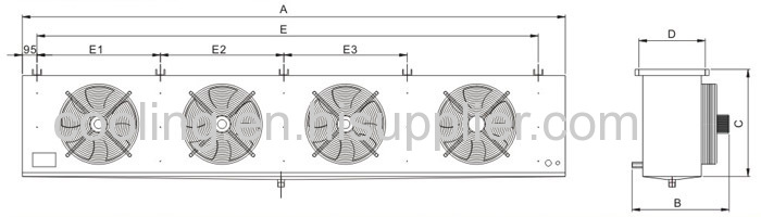 DJ-type series air cooler