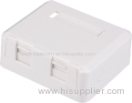 1-Port Keystone Jack Surface Mount Box