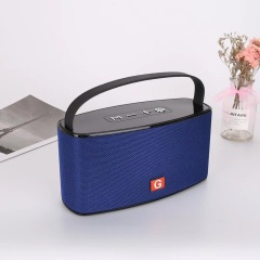 china supplier best large portable bluetooth speakers with microphone handsfree AUX USB TF FM Radio