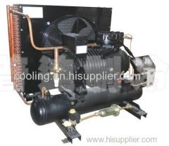 Semi-hermetic compressor condensing unit