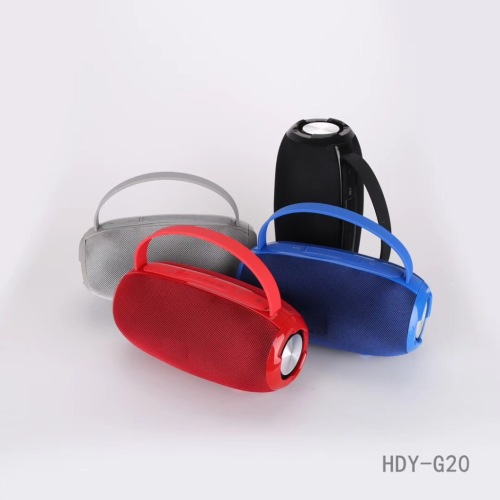 Super Bass portable wireless bluetooth speakers with handsfree AUX USB TF Card FM radio