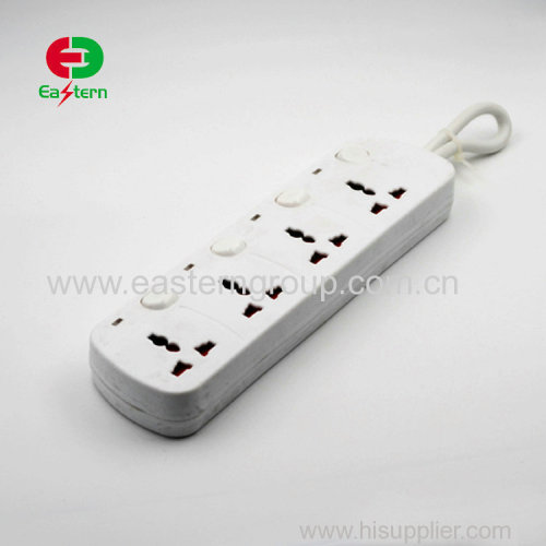 1.5M cable Universal type electrical outlet power socket surge protector 4 gang power extension electrical usb socket